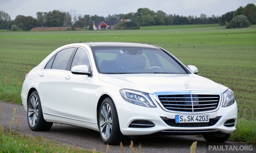 DRIVEN: W222 Mercedes-Benz S 500 Plug-in Hybrid Image #313028