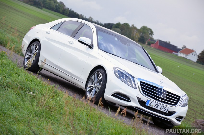 DRIVEN: W222 Mercedes-Benz S 500 Plug-in Hybrid Image #313029