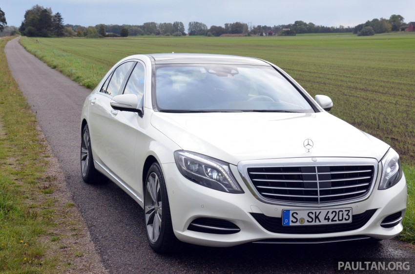 DRIVEN: W222 Mercedes-Benz S 500 Plug-in Hybrid Image #313041