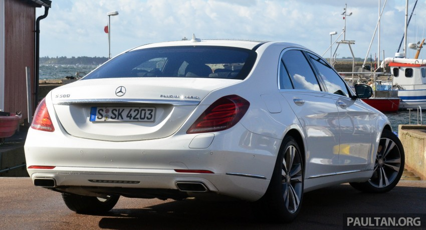 DRIVEN: W222 Mercedes-Benz S 500 Plug-in Hybrid Image #313050