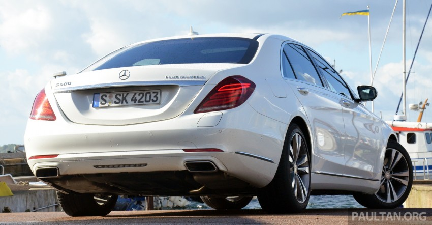 DRIVEN: W222 Mercedes-Benz S 500 Plug-in Hybrid Image #313051