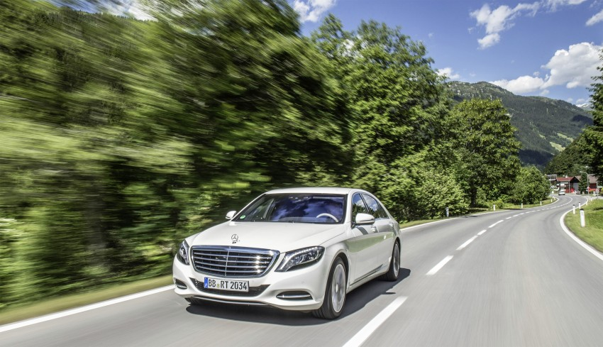DRIVEN: W222 Mercedes-Benz S 500 Plug-in Hybrid Image #313159