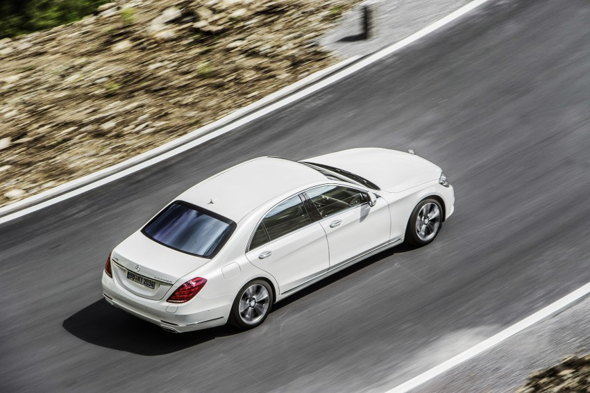 DRIVEN: W222 Mercedes-Benz S 500 Plug-in Hybrid Image #313162