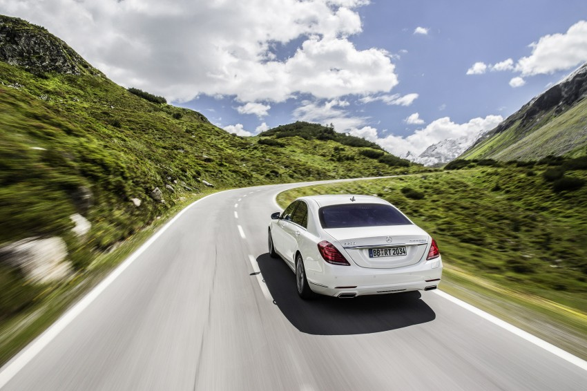 DRIVEN: W222 Mercedes-Benz S 500 Plug-in Hybrid Image #313164