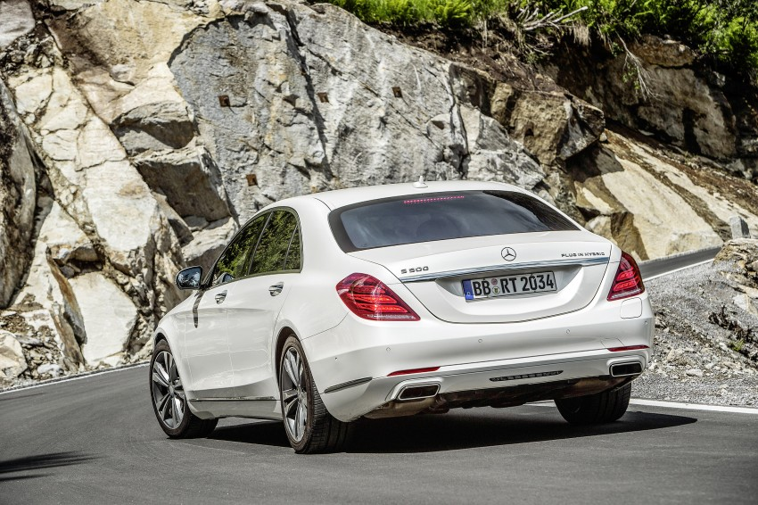 DRIVEN: W222 Mercedes-Benz S 500 Plug-in Hybrid Image #313157