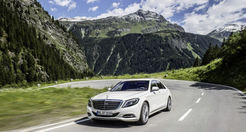 DRIVEN: W222 Mercedes-Benz S 500 Plug-in Hybrid Image #313158