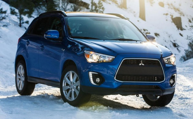 2015 Mitsubishi ASX receives new 2 4 litre engine