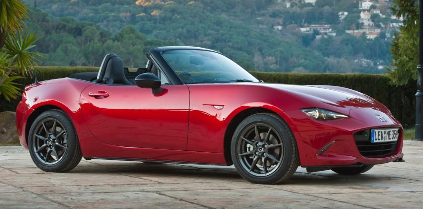GALLERY: 2016 Mazda MX-5 – output figures revealed Image #309183