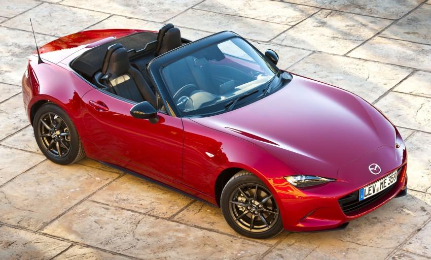 GALLERY: 2016 Mazda MX-5 – output figures revealed Image #309182