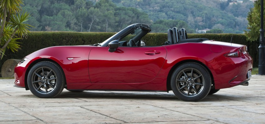 GALLERY: 2016 Mazda MX-5 – output figures revealed Image #309180