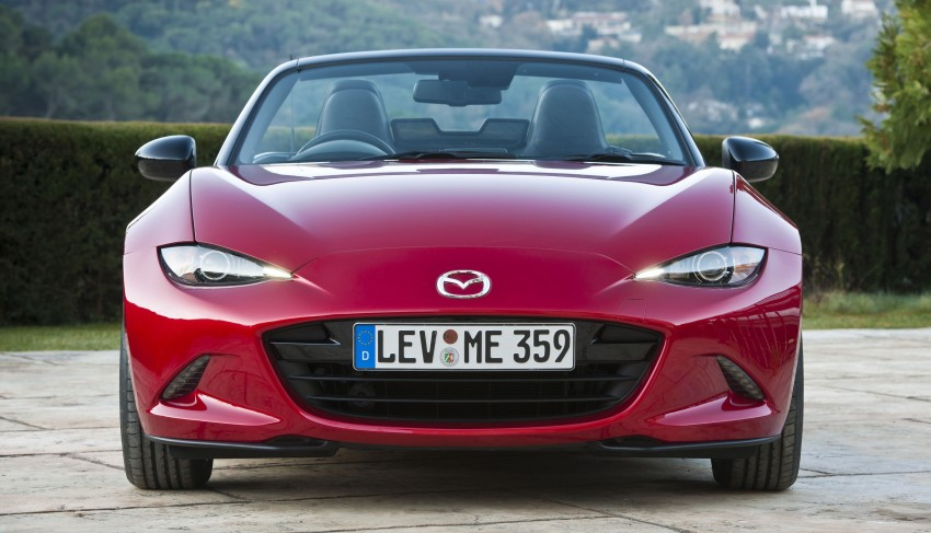 GALLERY: 2016 Mazda MX-5 – output figures revealed Image #309179