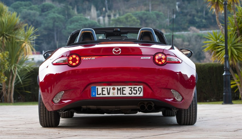 GALLERY: 2016 Mazda MX-5 – output figures revealed Image #309178
