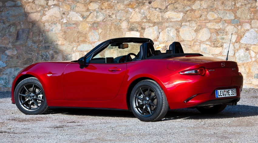 GALLERY: 2016 Mazda MX-5 – output figures revealed Image #309176