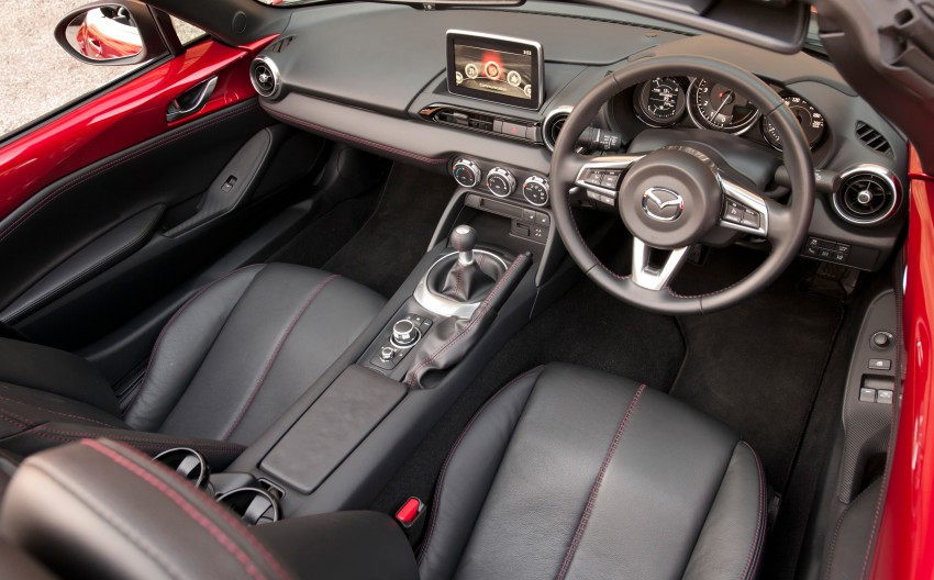 GALLERY: 2016 Mazda MX-5 – output figures revealed Image #309172