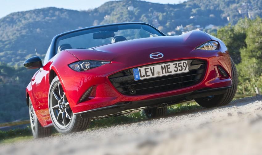 GALLERY: 2016 Mazda MX-5 – output figures revealed Image #309163
