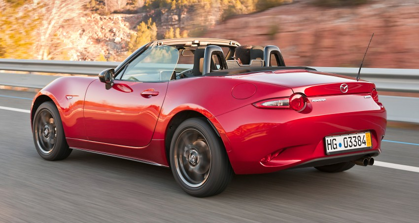GALLERY: 2016 Mazda MX-5 – output figures revealed Image #309200