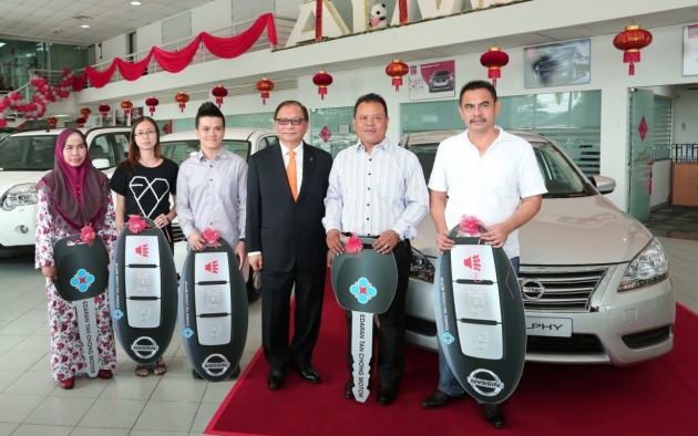 Great Nissan Buy 1 Win 1′ – the second round winners