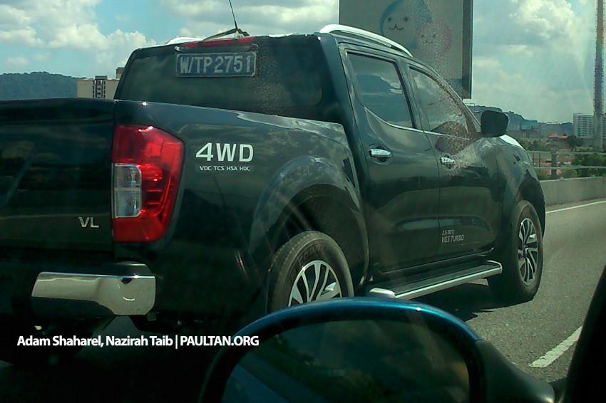 Nissan NP300 Navara spied in Malaysia – 2.5 VL 4WD! Image #309428