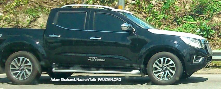 Nissan NP300 Navara spied in Malaysia – 2.5 VL 4WD! Image #309429