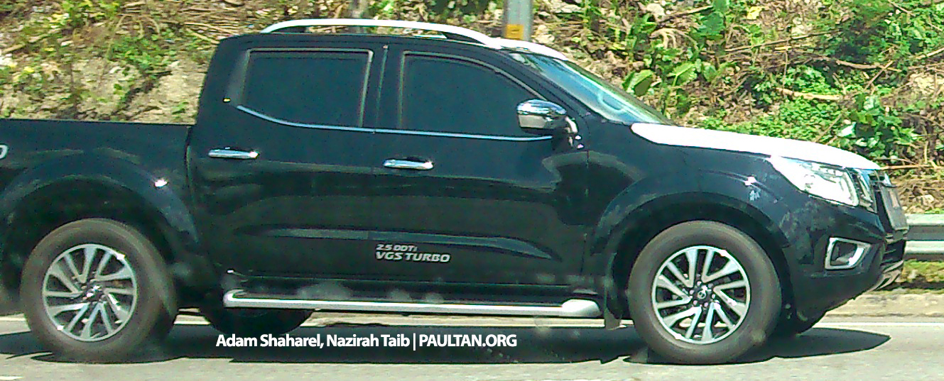 nissan np300 navara spied in malaysia 2 5 vl 4wd. Black Bedroom Furniture Sets. Home Design Ideas
