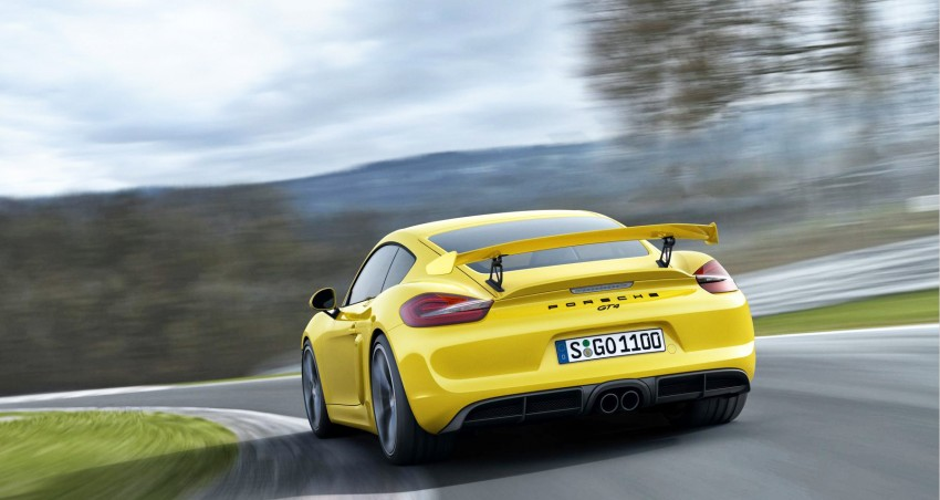 Porsche Cayman GT4 unveiled – 385 hp, manual only! Image #309294