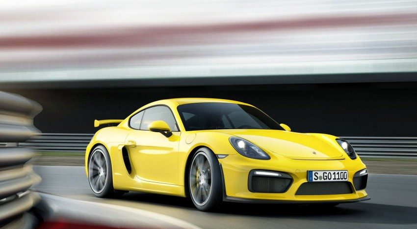 Porsche Cayman GT4 unveiled – 385 hp, manual only! Image #309305
