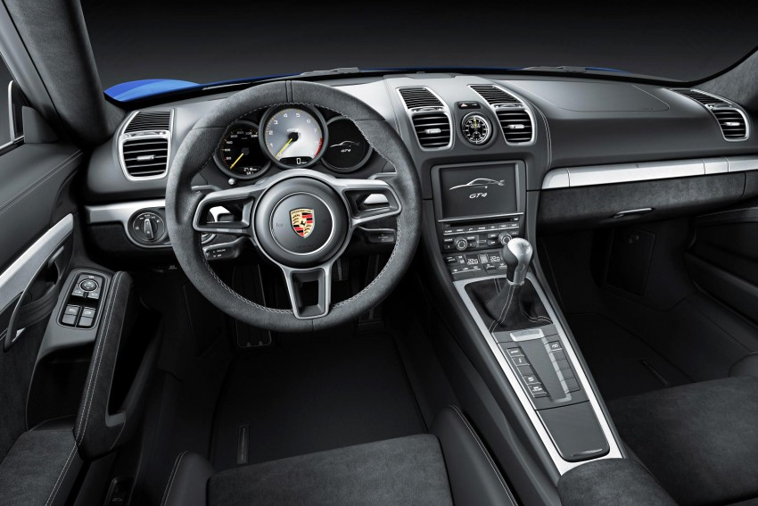 Porsche Cayman GT4 unveiled – 385 hp, manual only! Image #309296