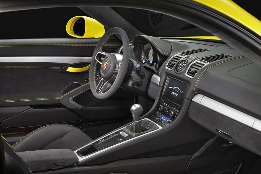 Porsche Cayman GT4 unveiled – 385 hp, manual only! Image #309301