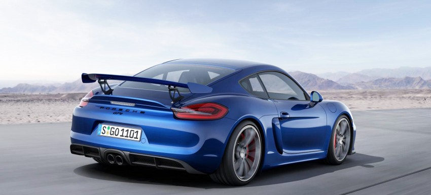 Porsche Cayman GT4 unveiled – 385 hp, manual only! Image #309302