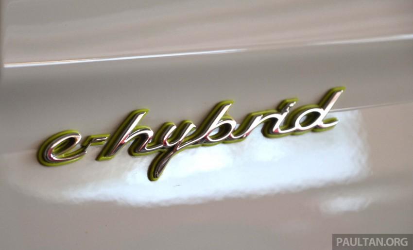 DRIVEN: Porsche Panamera S E-Hybrid in Singapore Image #309442