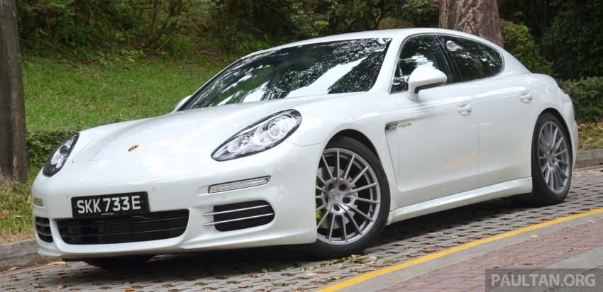 DRIVEN: Porsche Panamera S E-Hybrid in Singapore Image #309451