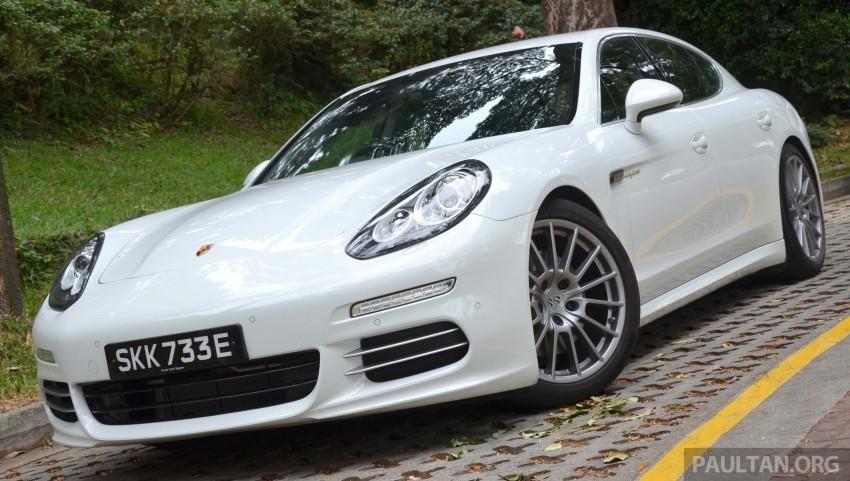 DRIVEN: Porsche Panamera S E-Hybrid in Singapore Image #309452