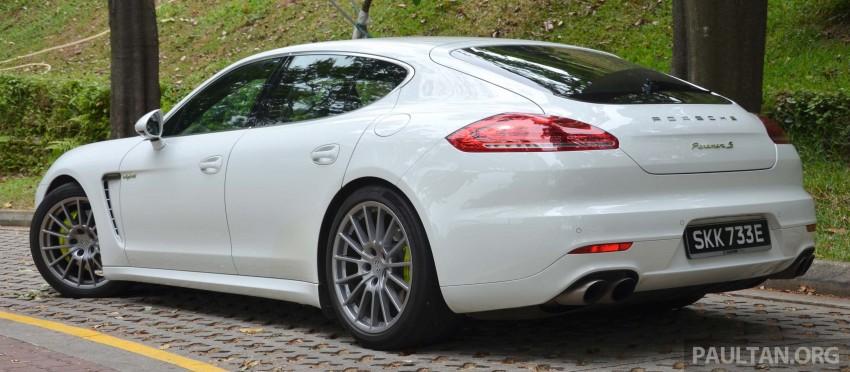 DRIVEN: Porsche Panamera S E-Hybrid in Singapore Image #309454