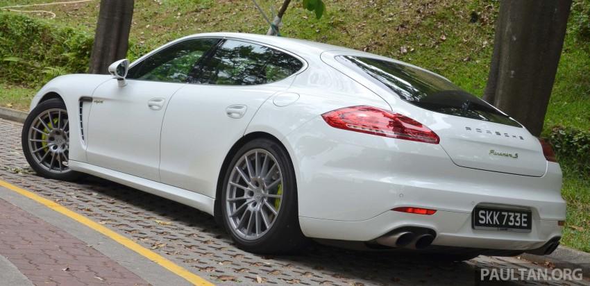 DRIVEN: Porsche Panamera S E-Hybrid in Singapore Image #309455