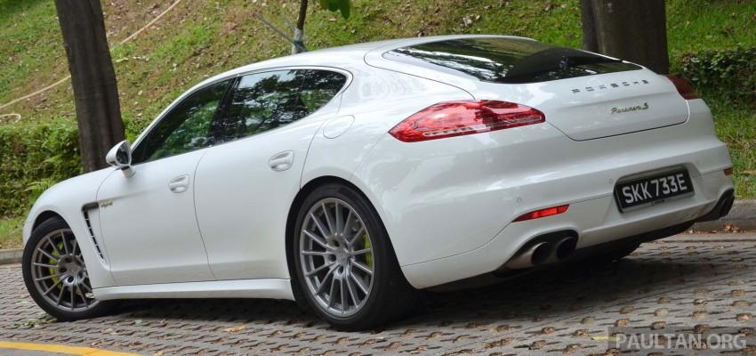DRIVEN: Porsche Panamera S E-Hybrid in Singapore Image #309456