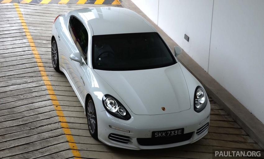DRIVEN: Porsche Panamera S E-Hybrid in Singapore Image #309457
