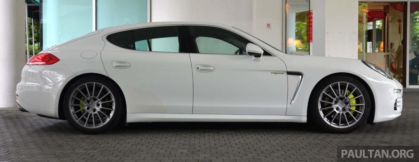 DRIVEN: Porsche Panamera S E-Hybrid in Singapore Image #309459