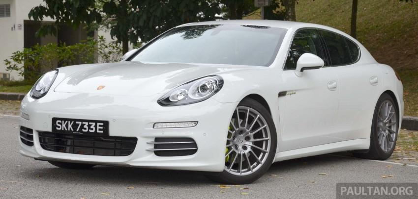 DRIVEN: Porsche Panamera S E-Hybrid in Singapore Image #309464