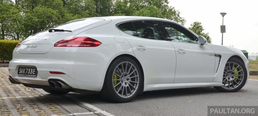 DRIVEN: Porsche Panamera S E-Hybrid in Singapore Image #309467