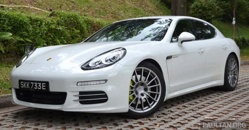 DRIVEN: Porsche Panamera S E-Hybrid in Singapore Image #309445
