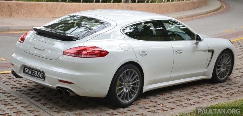DRIVEN: Porsche Panamera S E-Hybrid in Singapore Image #309447