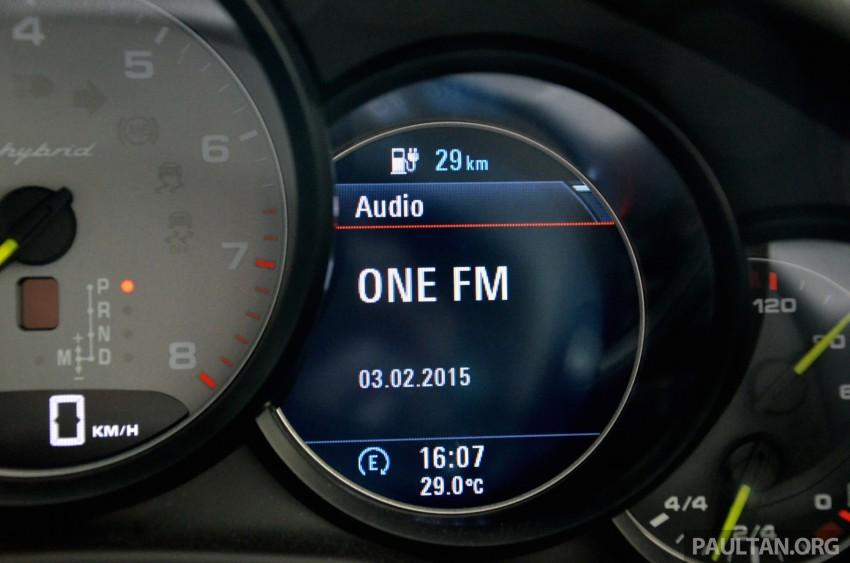 DRIVEN: Porsche Panamera S E-Hybrid in Singapore Image #309489