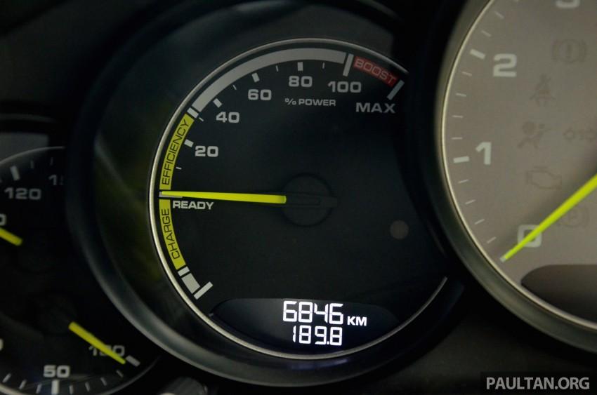 DRIVEN: Porsche Panamera S E-Hybrid in Singapore Image #309492
