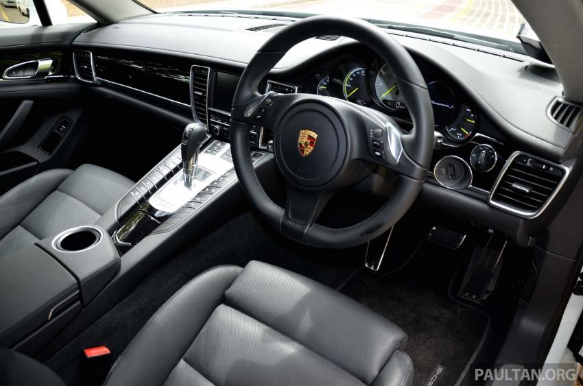 DRIVEN: Porsche Panamera S E-Hybrid in Singapore Image #309477