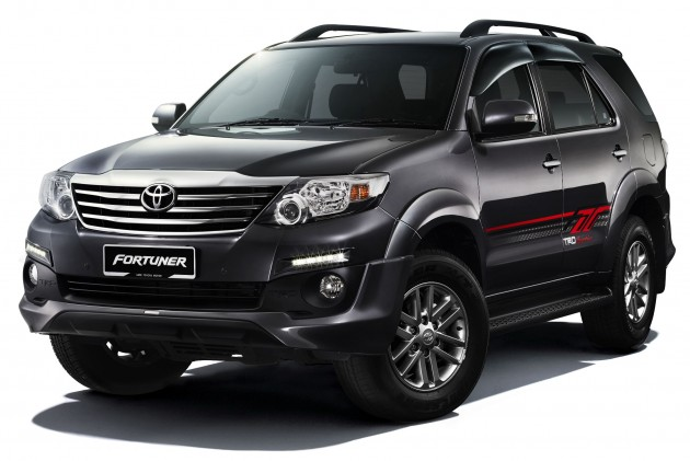 The Toyota Fortuner has been updated for 2015 – with regards to the