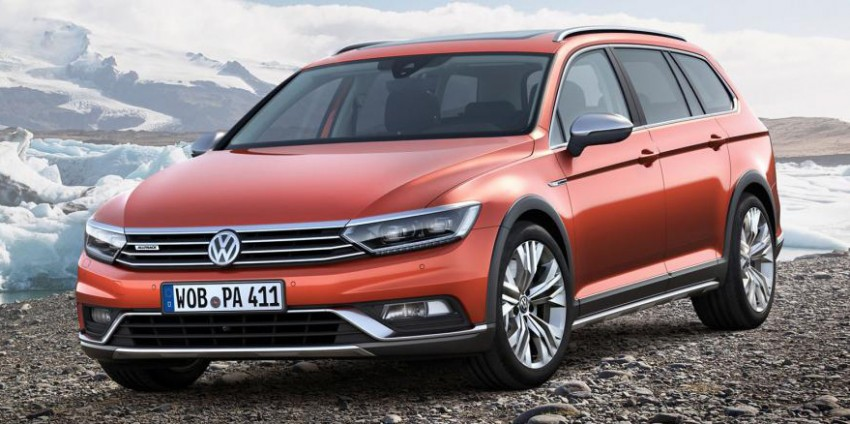Geneva 2015: Volkswagen Passat Alltrack – second generation unveiled based on B8 Passat Image #312828