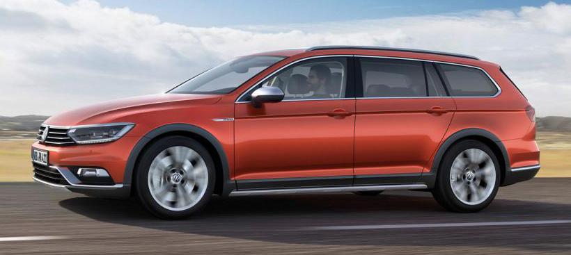 Geneva 2015: Volkswagen Passat Alltrack – second generation unveiled based on B8 Passat Image #312829