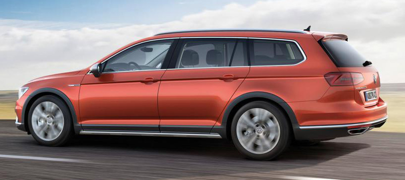 Geneva 2015: Volkswagen Passat Alltrack – second generation unveiled based on B8 Passat Image #312831