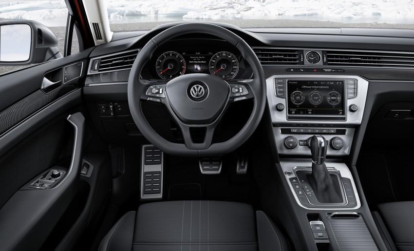 Geneva 2015: Volkswagen Passat Alltrack – second generation unveiled based on B8 Passat Image #314023