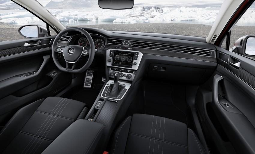 Geneva 2015: Volkswagen Passat Alltrack – second generation unveiled based on B8 Passat Image #314025
